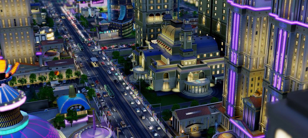 No offline SimCity photo