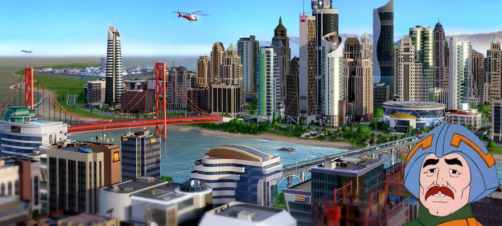 SimCity online workaround photo