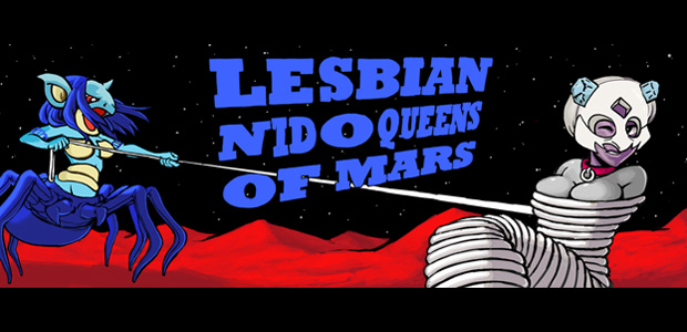 The Daily Hotness: Lesbian Nidoqueens of Mars photo