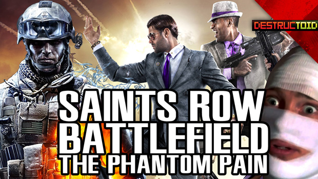 Saints Row IV, Battlefield 4 & The Phantom Pain screenshot