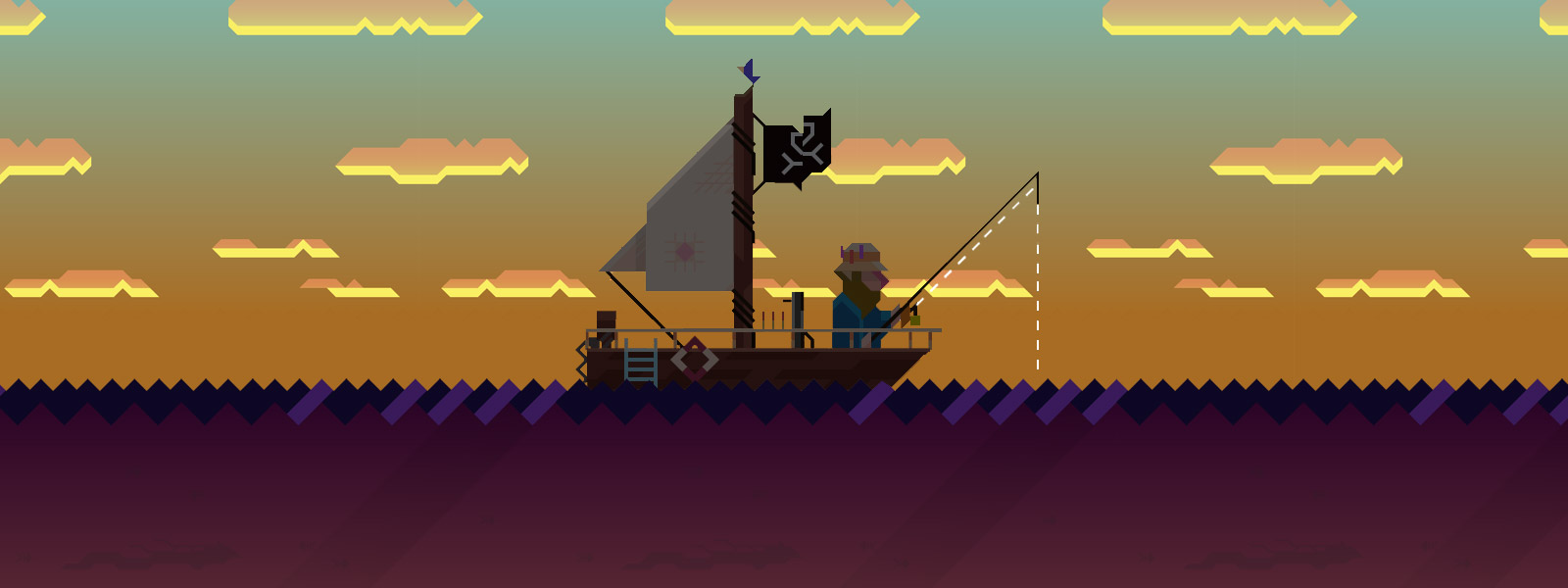Review: Ridiculous Fishing screenshot