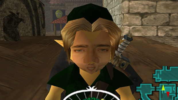 Majora's Mask gains the mask-like face of Nicolas Cage screenshot