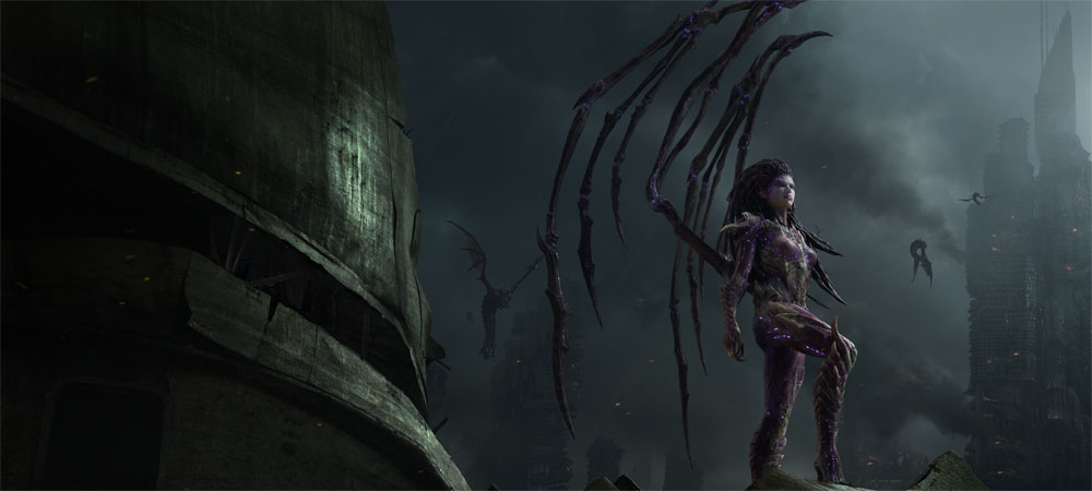 Review: StarCraft II: Heart of the Swarm photo
