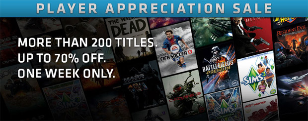 Origin has 200+ games on sale this week photo