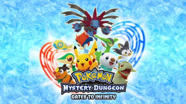 Pokemon Mystery Dungeon hitting 3DS, uses 3D models screenshot