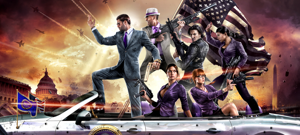 Saints Row IV has a 'f*ck ton more' content than SR3 photo