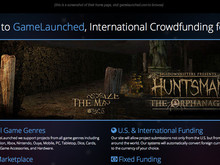 GameLaunched.com is live, crowdfunding games worldwide photo