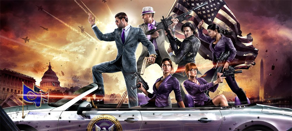 PAX: Become a superhero President in Saints Row IV photo
