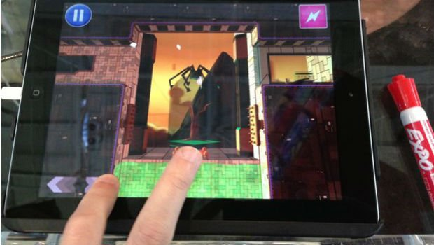 PAX: Ms. Splosion Man runs at 60fps on the iPad screenshot