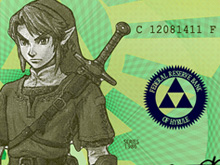 Zelda cash money photo