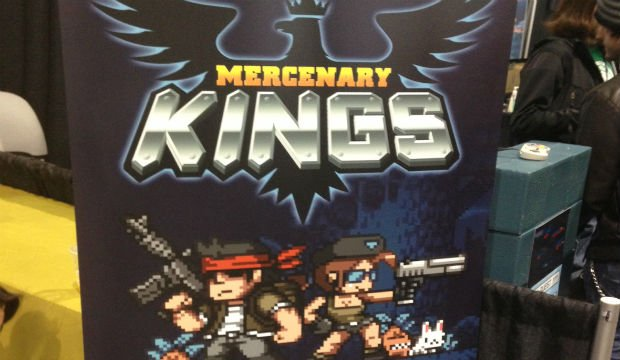 PAX: Mercenary Kings has four player split-screen co-op ph
