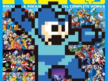 Mega Man art book photo