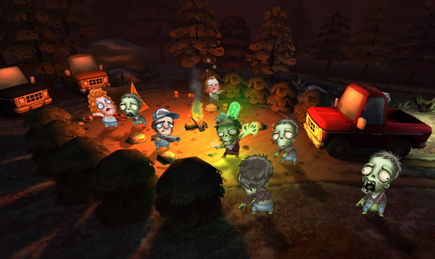 Ray's the Dead is Pikmin with zombies screenshot
