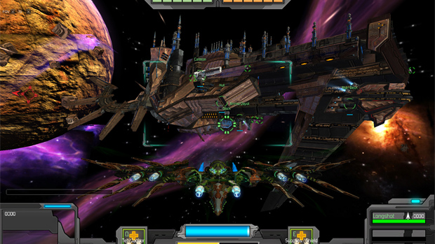 God Factory: Wingmen is about arcade dogfights in space  screenshot