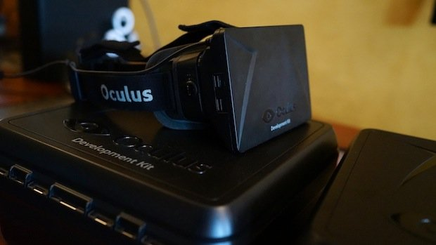 I'm flying! Oculus Rift and Hawken make VR magic together photo