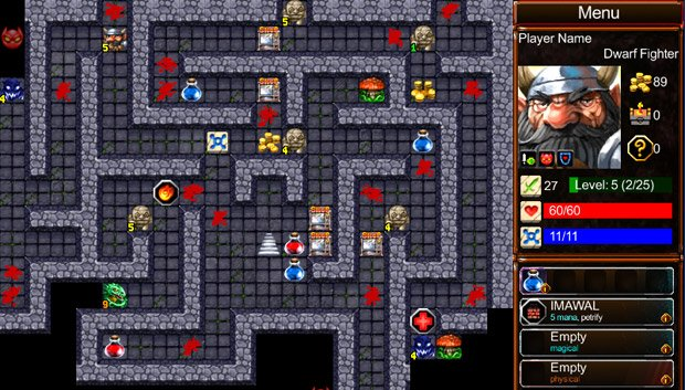 Desktop Dungeons beta free for the rest of the month photo