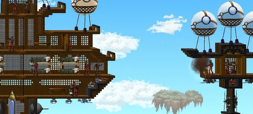 Windforge is an RPG mix of Terraria and steampunk photo