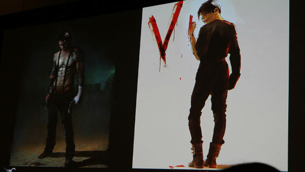 Ninja Theory talks reboot and shows off unseen Dante art photo