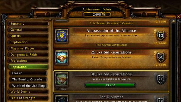 World of Warcraft players really love those achievements  photo