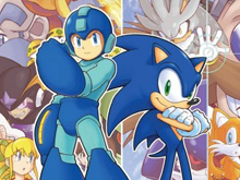 Archie Sonic / Mega Man photo