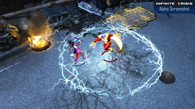 Infinite Crisis brings DC Comics onto the MOBA stage photo