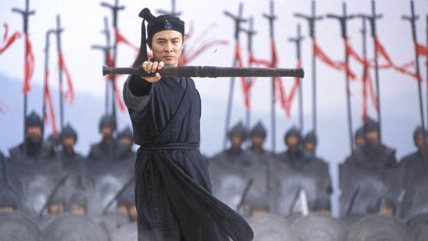 Jet Li says games can be as demanding as physical sports screenshot