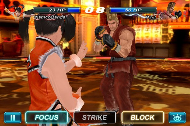 Tekken Card Tournament out now on iOS, Android, browsers screenshot