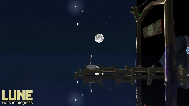 Lune is a game that lets you control the moon screenshot