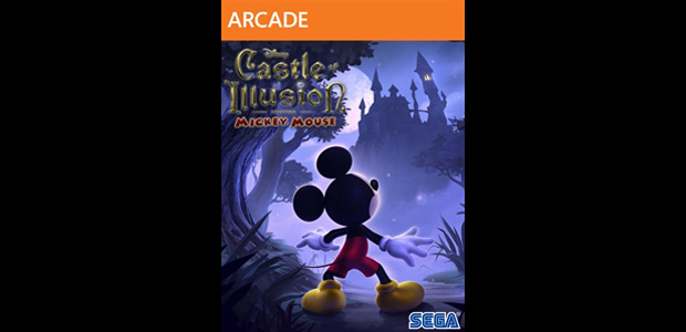 Castle of Illusion digital box art materializes screenshot
