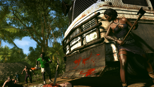 Dead Island Riptide screens have lots of green in them screenshot