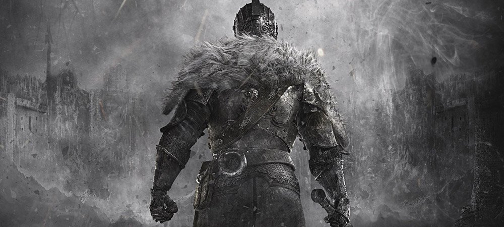 Dark Souls II box art forgot to add color photo