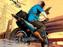 Grand Theft Auto V art goes for a ride photo