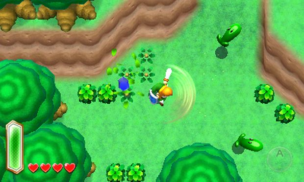 New Link to the Past for 3DS focuses on vertical gameplay photo