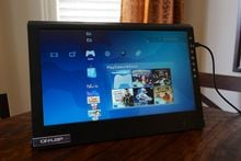 Review: On-Lap 2501M Portable LCD Gaming Monitor photo