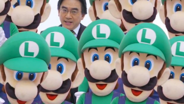 Iwata is CEO x2 photo
