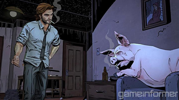 First screens and details on Telltale's Wolf Among Us screenshot