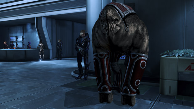 Why BioWare only had humanoid squadmates in Mass Effect photo