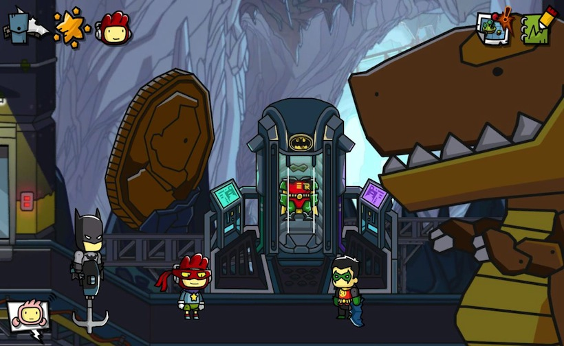 Scribblenauts meets DC photo