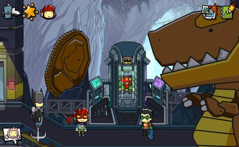The next Scribblenauts is set in the DC Comics universe
