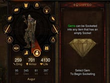 Diablo III uses the PlayStation 4 touchpad for inventory photo