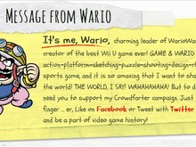 Wario's crowdfarter photo