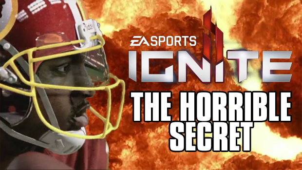 The horrible secret behind EA Sports' Ignite Engine photo