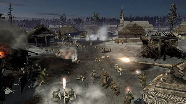 Here's your Company of Heroes 2 campaign trailer screenshot