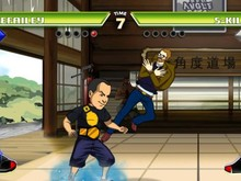 Seth Killian is a playable character in Divekick photo