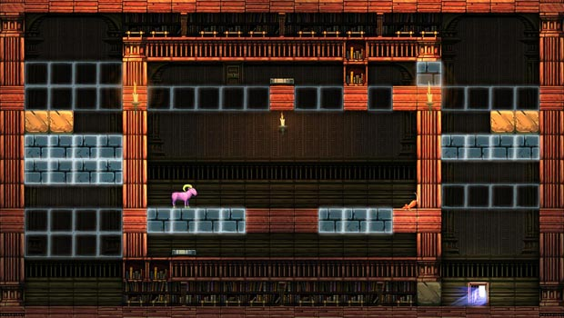Escape Goat 2 goes Metroidvania with new map system screenshot