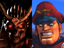 Shao Kahn vs. M. Bison photo