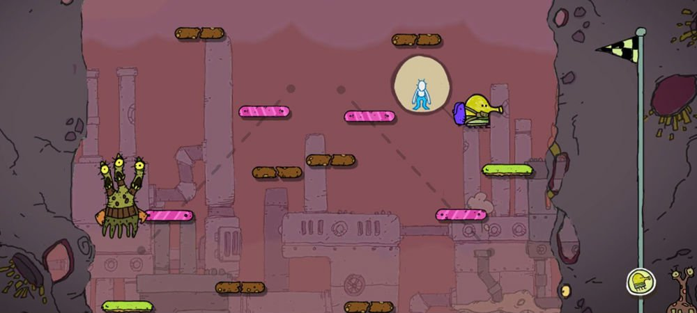 Review: Doodle Jump for Kinect screenshot