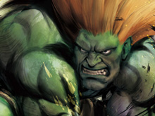 Blanka is a troll photo