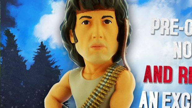 Rambo: The Video Game has Sly pre order figurines screenshot