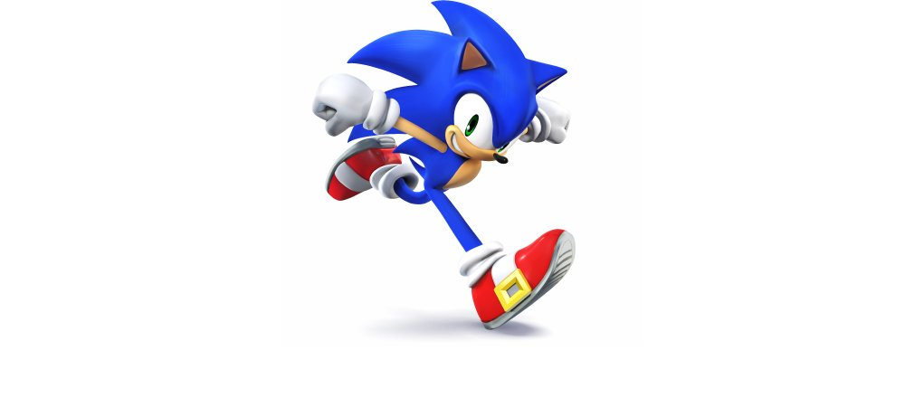 sonic s gotta go fast in these smash 4 screens